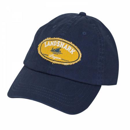 Landshark Navy Blue Round Logo Hat