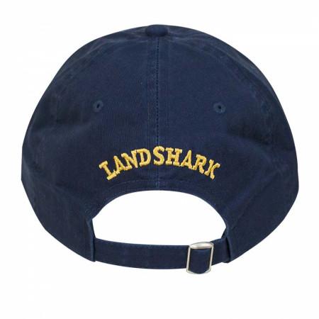 Landshark Adjustable Navy Blue Hat