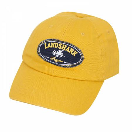 Landshark Yellow Round Logo Hat
