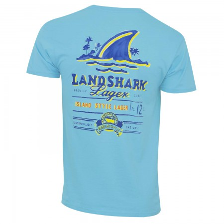 Landshark Aqua Men's T-Shirt