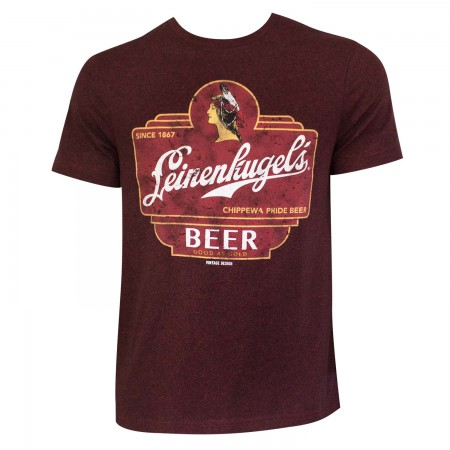 Leinenkugel Logo Red Tee Shirt