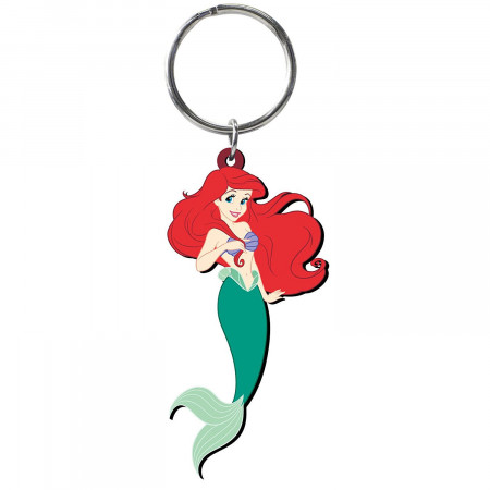 The Little Mermaid Ariel PVC Soft Touch Keychain