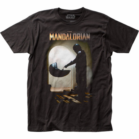 The Mandalorian Mando Meets The Child T-Shirt