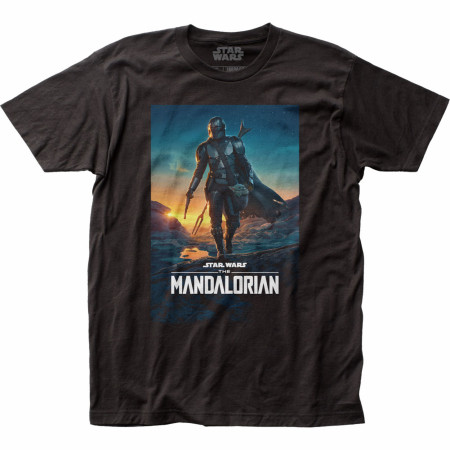 Star Wars The Mandalorian Season 2 Poster T-Shirt