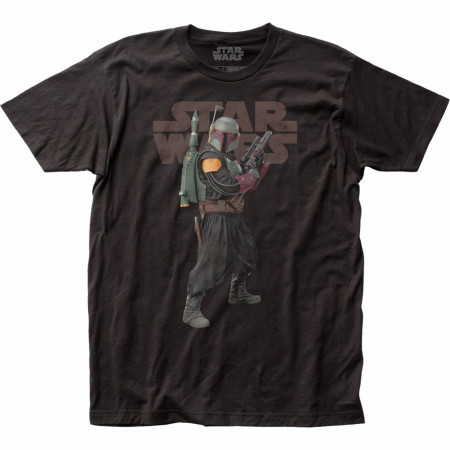 Star Wars The Mandalorian Old Boba Fett T-Shirt