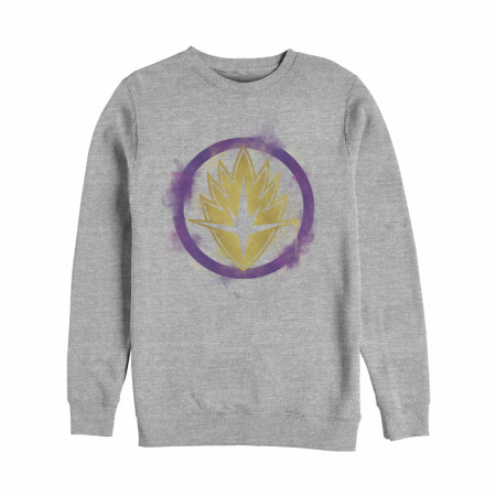 Guardians of the Galaxy Smudged Logo Crewneck Sweatshirt
