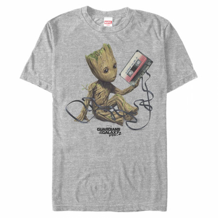 Guardians of the Galaxy Groot Mix Tape T-Shirt