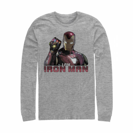 Avengers: Endgame I Am Iron Man Long Sleeve Shirt