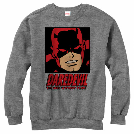 Daredevil Man Without Fear Crewneck Sweatshirt