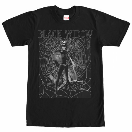 Black Widow Web T-Shirt