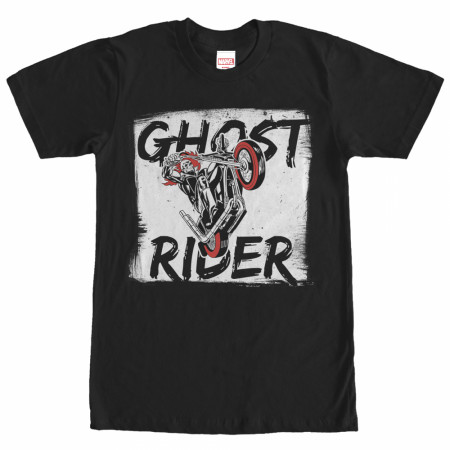 Ghost Rider Paint Print T-Shirt