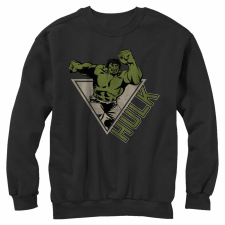 Hulk Retro Design Crewneck Sweatshirt