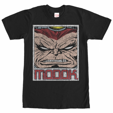 Modok Monstrous Black T-Shirt