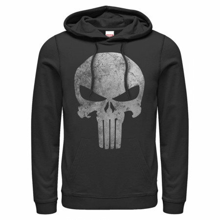Punisher Faded Logo Hoodie
