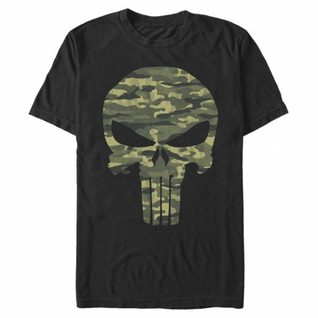 Punisher Camo Skull T-Shirt