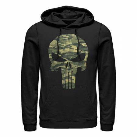 Punisher Camo Skull Hoodie