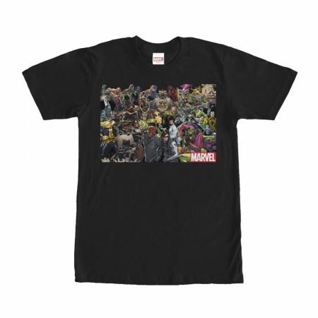 Marvel Villains T-Shirt