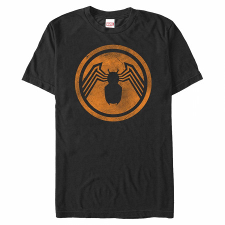 Venom Halloween Color Logo T-Shirt