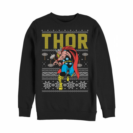 Thor Ugly Christmas Sweater Design Sweatshirt