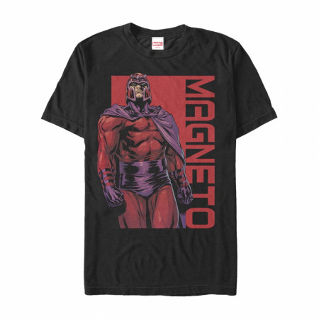 Magneto Arrogant Pose Black T-Shirt