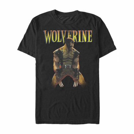 X-Men Wolverine Retro Pose T-Shirt