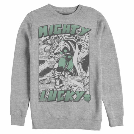 Thor Mighty Lucky Grey Sweatshirt
