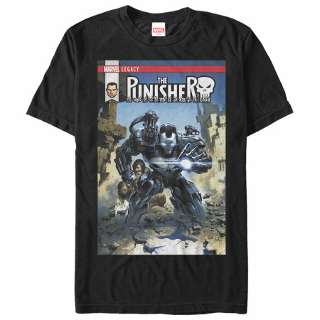 Punisher War Machine Volume 1 Comic Cover T-Shirt