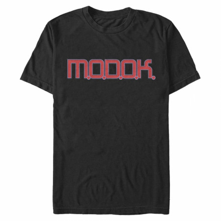 MODOK Text Label T-Shirt
