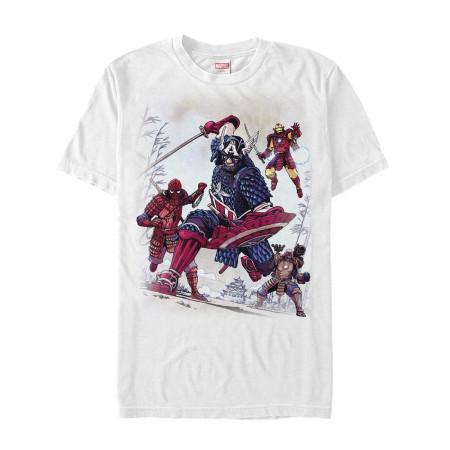 Marvel Samurai Warrior Avengers Men's T-Shirt