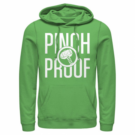 Thor Pinch Proof Green Hoodie