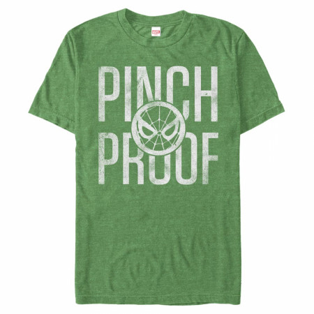 Spider-Man Pinch Proof Faded Green T-Shirt