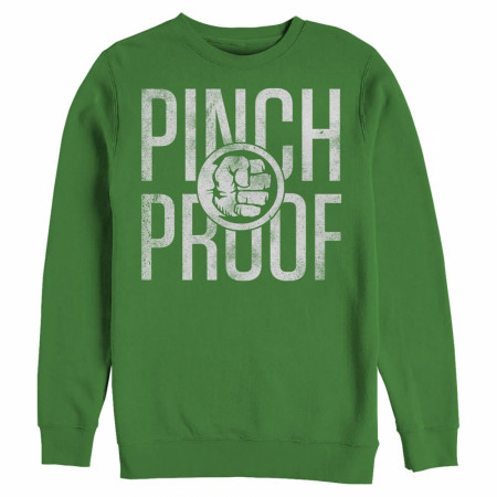 Hulk Pinch Proof Green Sweatshirt