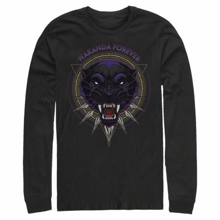 Black Panther Wakanda Forever Long Sleeve Shirt