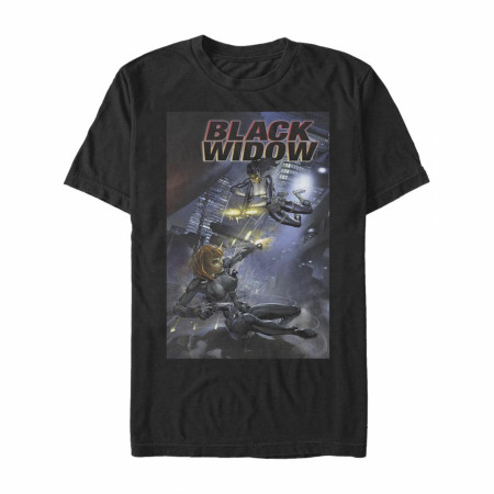 Black Widow #3 Comic Cover T-Shirt