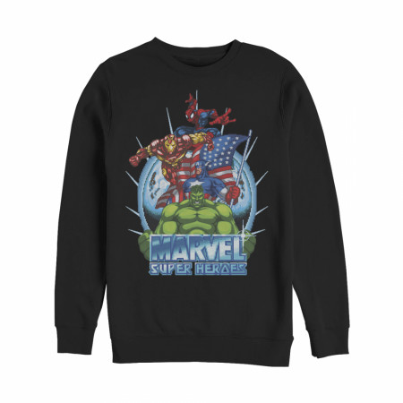 Marvel Patriotic Heroes Sweatshirt