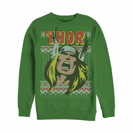 The Mighty Thor Ugly Christmas Sweatshirt