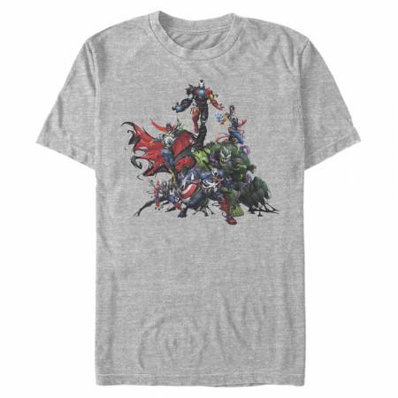 Maximum Venom Avengers T-Shirt