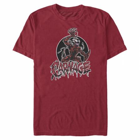 Carnage Circle Logo T-Shirt