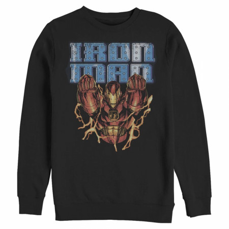 Iron Man In Flight Crewneck Sweatshirt