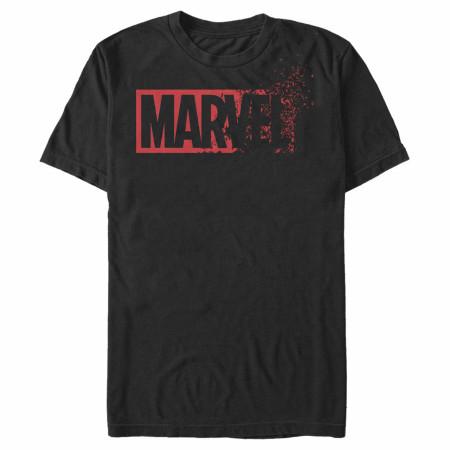 Marvel Dissolving Logo T-Shirt