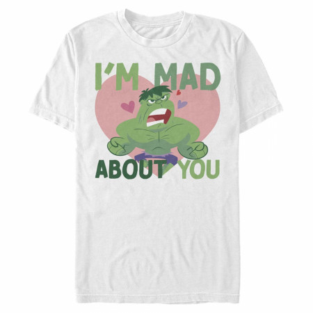 The Incredible Hulk I'm Mad About You Valentine's Day T-Shirt