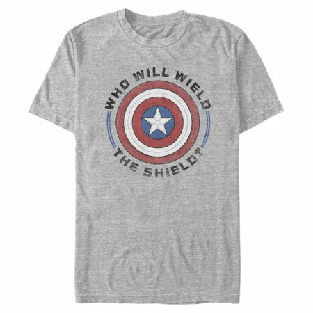 The Falcon and The Winter Soldier Who Will Wield the Shield T-Shirt