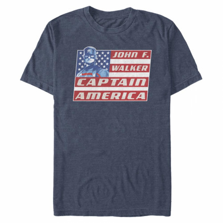 The Falcon and The Winter Soldier John F. Walker Captain America T-Shirt