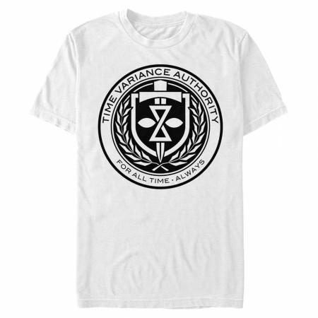 Loki Time Variance Authority TVA Crest T-Shirt