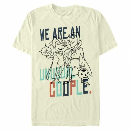 WandaVision Unusual Couple Outline T-Shirt