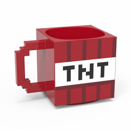 Minecraft Red TNT Block Ceramic Sculpted Mug