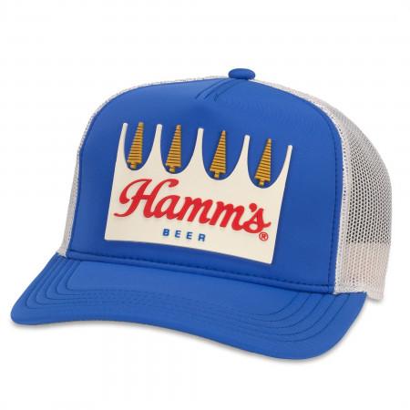 Hamm's Beer Crown Label Adjustable Hat