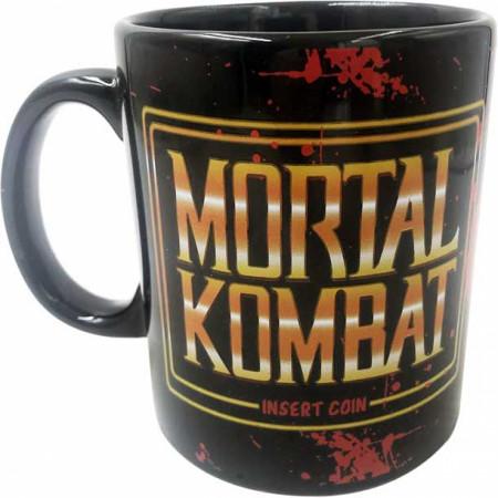 Mortal Kombat Insert Coin 20oz Ceramic Mug