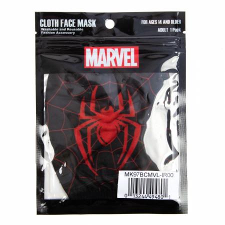 Marvel Miles Morales Spider-Man Adjustable Face Cover
