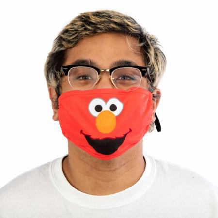 Elmo Sesame Street Bigface Adjustable Face Cover